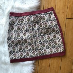 H&M Skirts - H&M Divided Floral Jacquard Mauve Blanket Skirt
